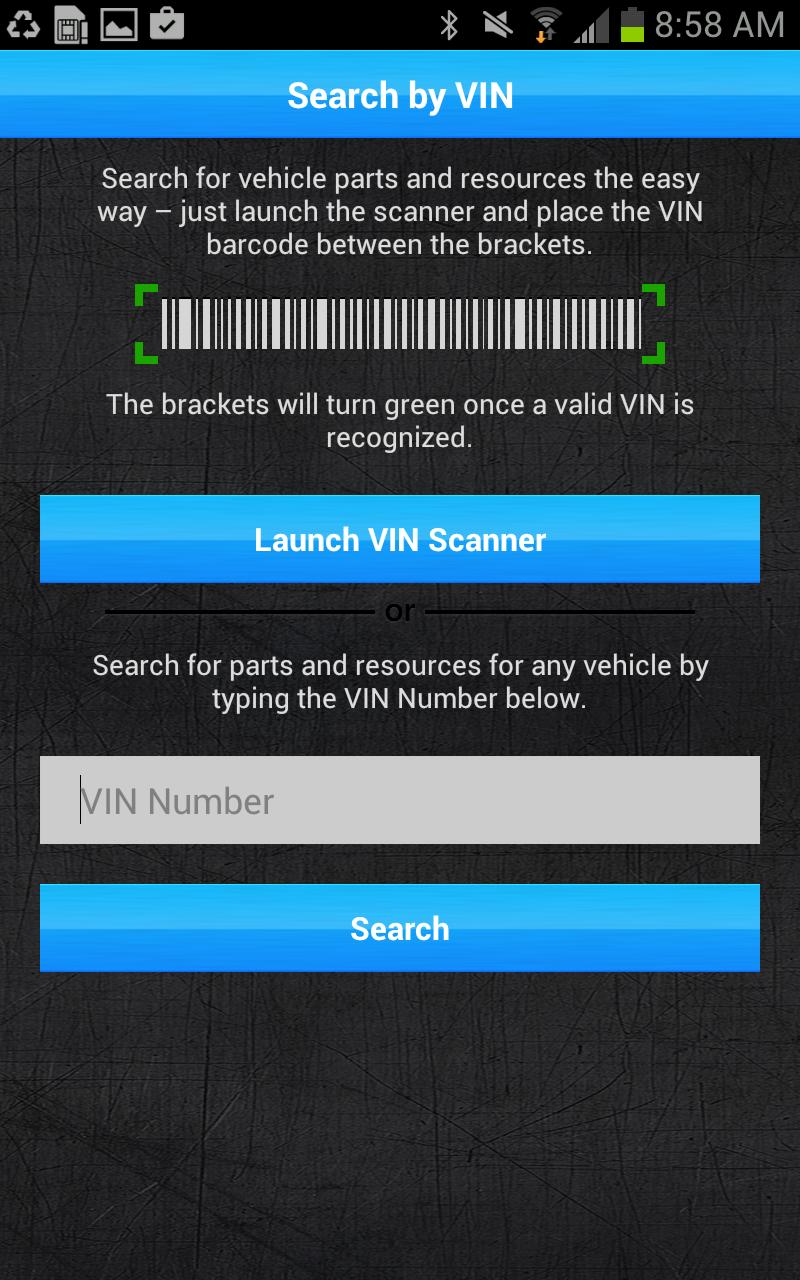 Vin Number Scanner >> Bca Vin Scan For Android Apk Download