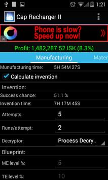 Industry calculator for eve apk download free tools app for industry calculator for eve apk screenshot malvernweather Images