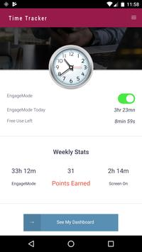 EngageMode from Extracon Science LLC apk screenshot