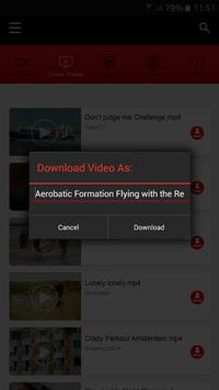 Extra HD VID Downloader apk screenshot