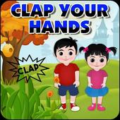 Clap Your Hands – Poem for Kids icon