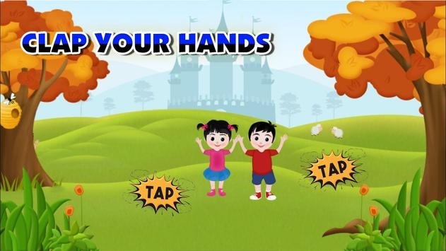 Clap Your Hands – Poem for Kids screenshot 2