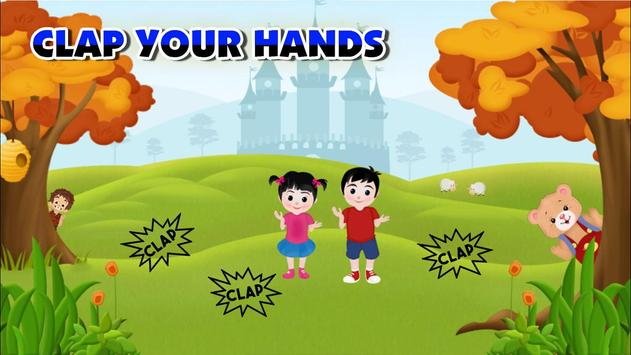 Clap Your Hands – Poem for Kids screenshot 6