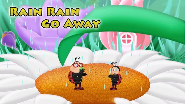Rain Rain Go Away Poem for Kids screenshot 1