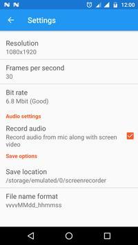 Screen Recorder screenshot 1