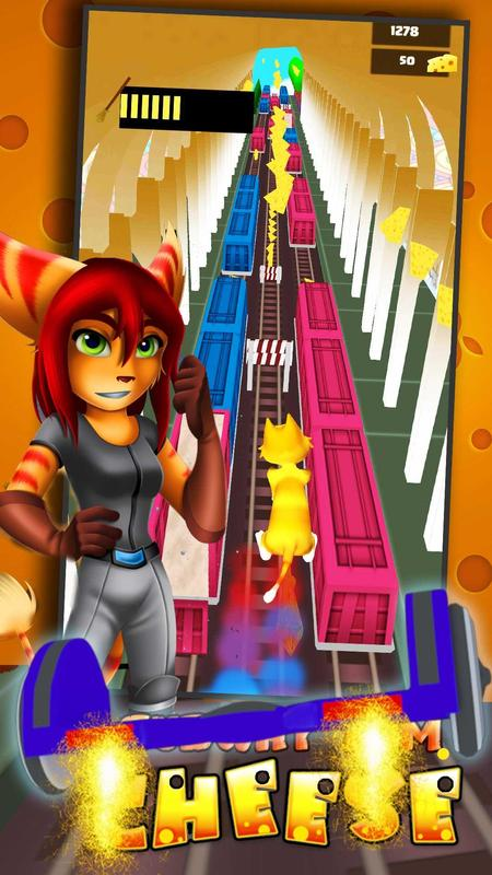 Hoverboard Surfers 3d Ratchet Clank For Android Apk Download