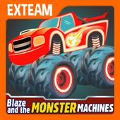Blaze Light Monster Truck Games icon