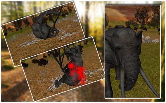 Elephant Hunter Sniper Shooter screenshot 1