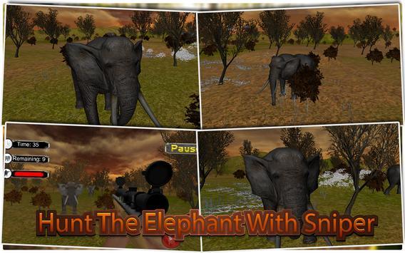 Elephant Hunter Sniper Shooter screenshot 5