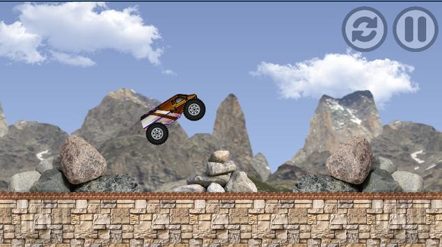 Extreme Car Mountain II screenshot 1