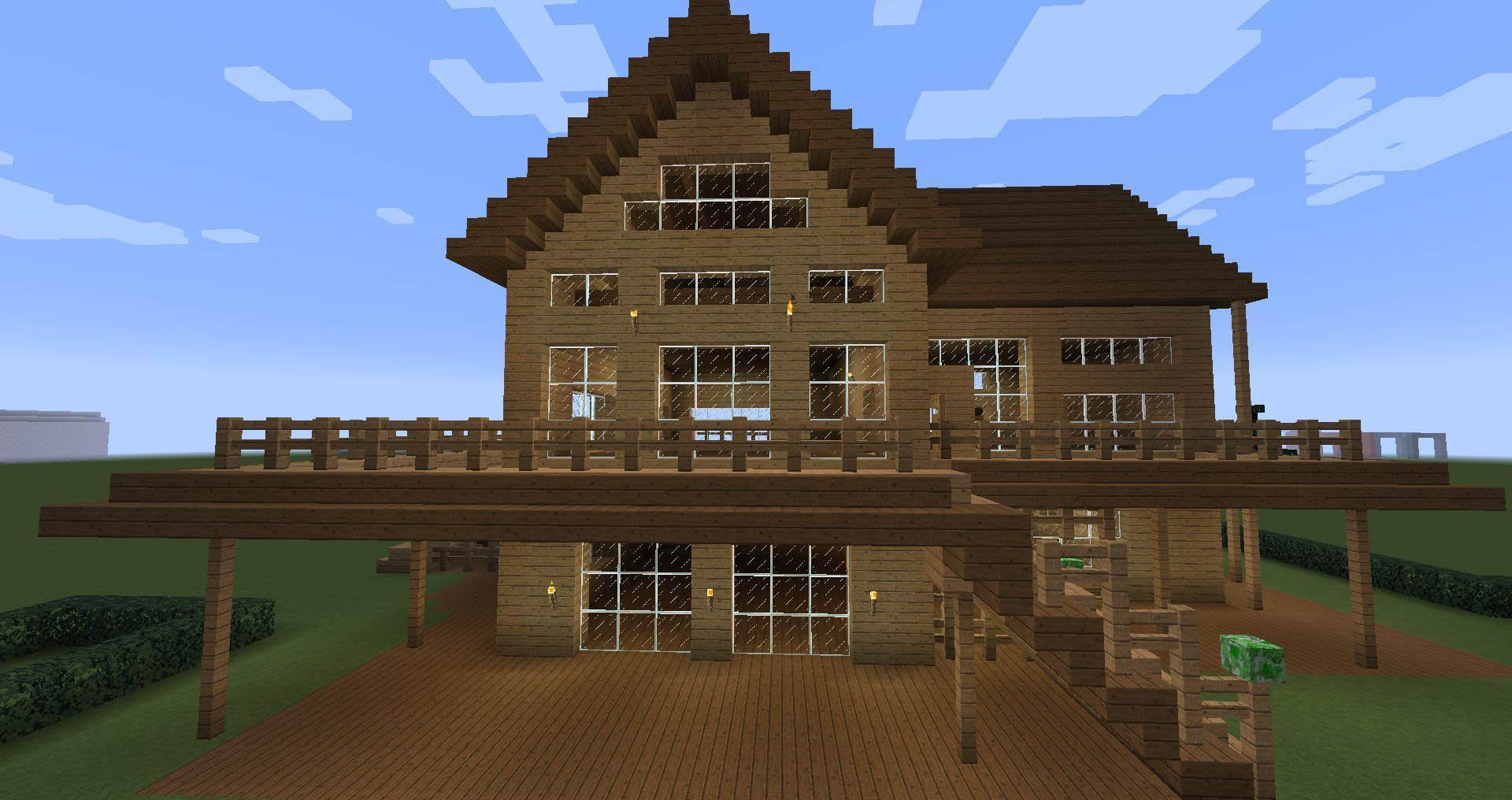 Дома в майнкрафте фото и как их строить