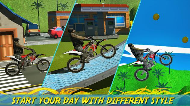 Trail Extreme Bike Racing 3D poster