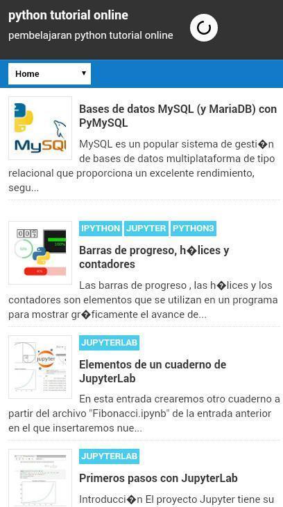 Tutorial Python Online - Python Easy cho Android - Tải về APK