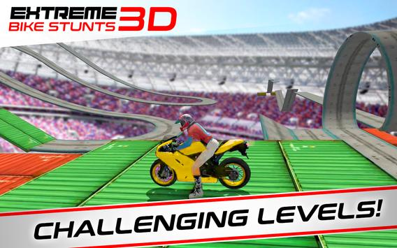 Extreme Bike Stunts Game 3D تصوير الشاشة 8