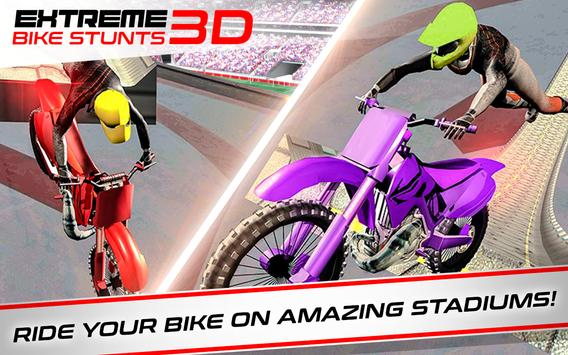 Extreme Bike Stunts Game 3D الملصق