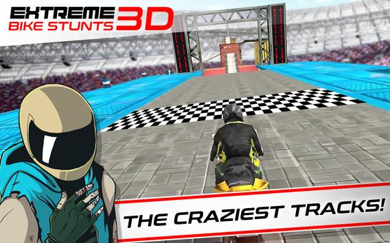 Extreme Bike Stunts Game 3D تصوير الشاشة 1