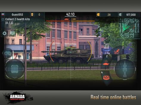 Армада: Танковый онлайн Экшен скриншот приложения