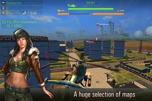 Battle of Helicopters: Gunship Strike apk screenshot