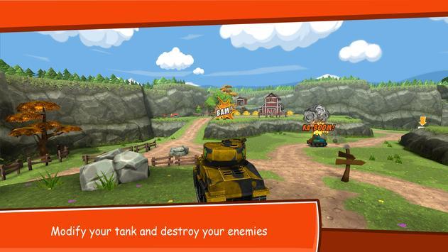Toon Wars: Battle tanks online poster