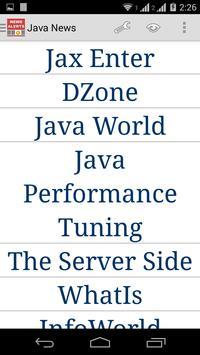 Java News poster