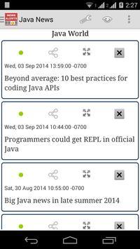 Java News apk screenshot