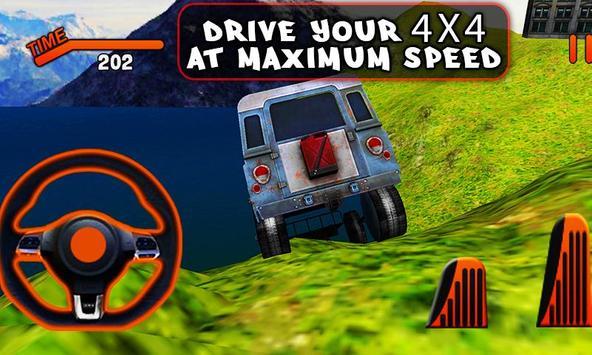 Offroad 3D Jeep Driving Simulator apk screenshot