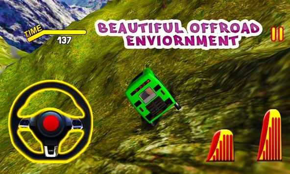 3D Off Road Auto Rickshaw Simulator poster
