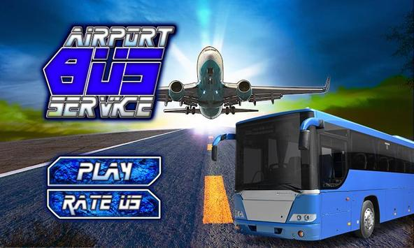 3D Airport Bus Service Driving Simulator poster