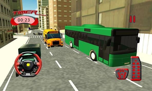 3D Airport Bus Service Driving Simulator apk screenshot