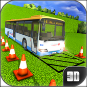 3D Bus Driving Parking Simulator icon