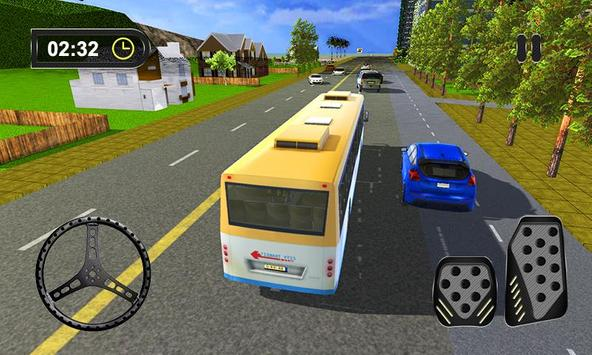 3D Bus Driving Parking Simulator apk screenshot