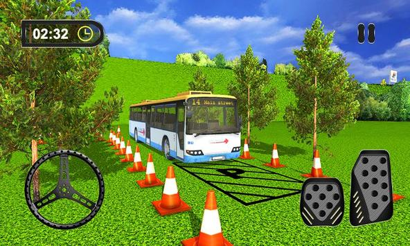 3D Bus Driving Parking Simulator poster