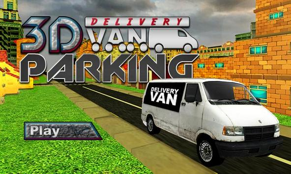 Real Van Parking : postman delivery truck driver poster