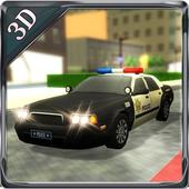 3D Police Car Driving Simulator icon