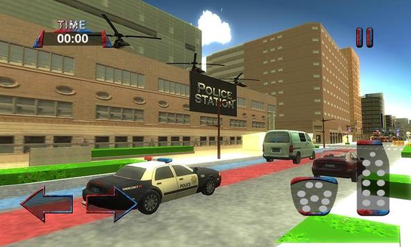 3D Police Car Driving Simulator screenshot 3