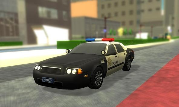 3D Police Car Driving Simulator poster