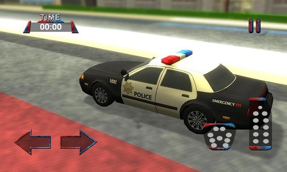 3D Police Car Driving Simulator screenshot 1