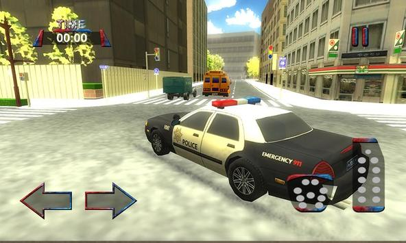 3D Police Car Driving Simulator screenshot 2
