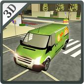 Real Pizza Delivery Van Simulator icon