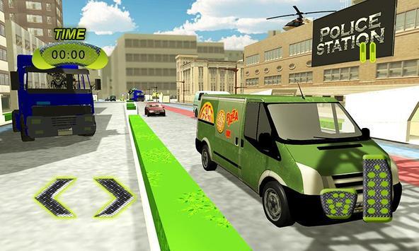 Real Pizza Delivery Van Simulator screenshot 3