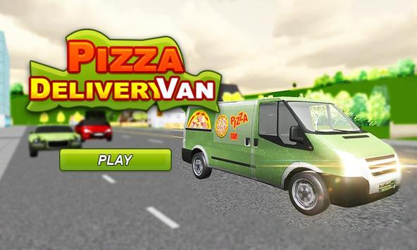 Real Pizza Delivery Van Simulator poster