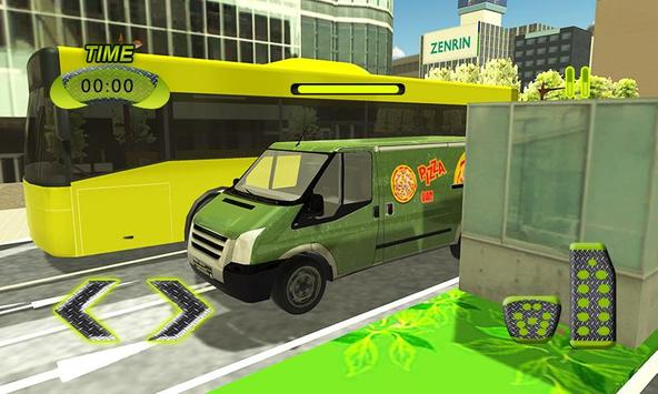 Real Pizza Delivery Van Simulator screenshot 2