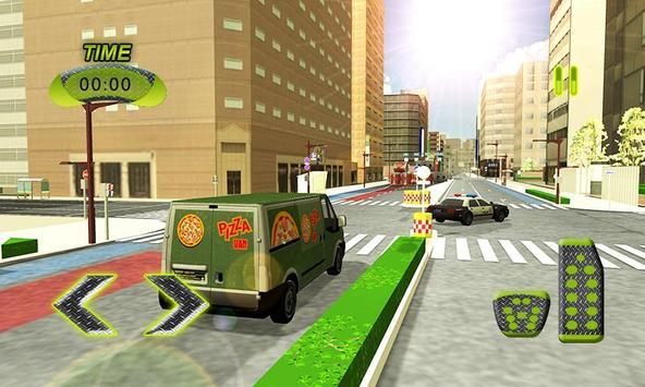 Real Pizza Delivery Van Simulator screenshot 5