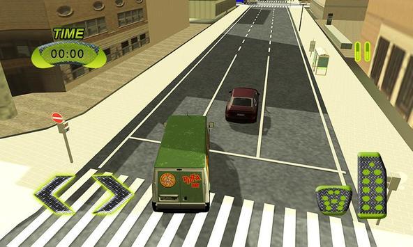 Real Pizza Delivery Van Simulator apk screenshot