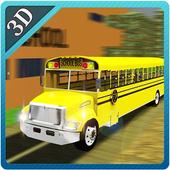 3D School Bus Driver Simulator icon