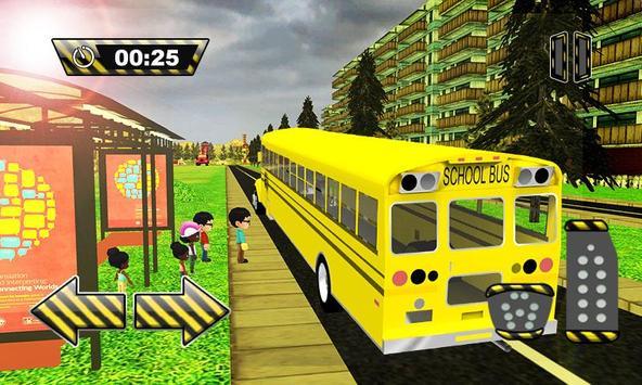 3D School Bus Driver Simulator apk screenshot