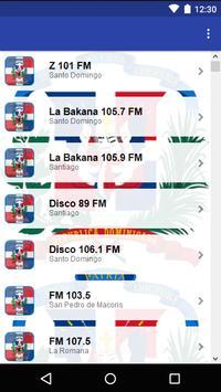 Dominican Republic Radio screenshot 1
