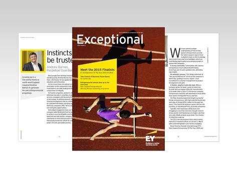 EY Exceptional NZ poster