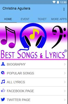 Christina Aguilera screenshot 1