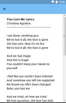 Christina Aguilera screenshot 3